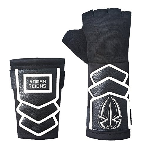 Roman Reigns Wwe Superman Punch Handschuh Armband Set - Weiß, One Size