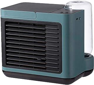 WANG Portátil Climatizador Evaporativo Aire Acondicionado USB 3 En 1 con 3 Velocidades De Viento Frío para Oficina Hogar Coche [Clase De Eficiencia Energética A ] (Color : Blue)