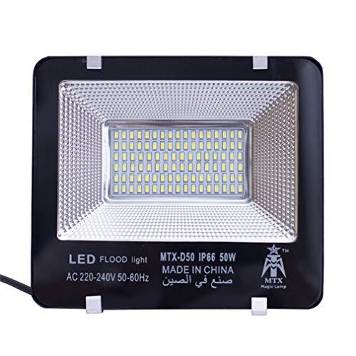 La lumière d'inondation de LED met en valeur la lumière extérieure de sécurité de projecteurs imperméable et anti-déflagrant (taille : 23 * 20cm(50w))