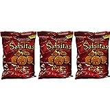 El Sabroso Salsitas Spicy Salsa Tortilla 3oz (Pack of 3) … (Salsitas)
