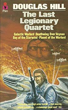 """The Last Legionary Quartet: """"Galactic Warlord"""", """"Deathwing Over Veynaa"""", """"Day of the Starwind"""", """"Planet of the Warlord"""" 0330289543 Book Cover"""