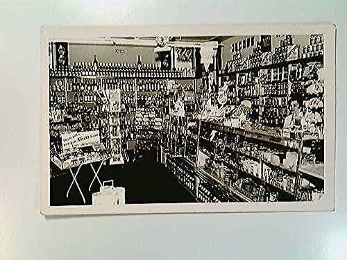 Konsum, Ladengeschäft, großes Sortiment, Berlin, Fotografie, AK, ungelaufen, ca. 1950