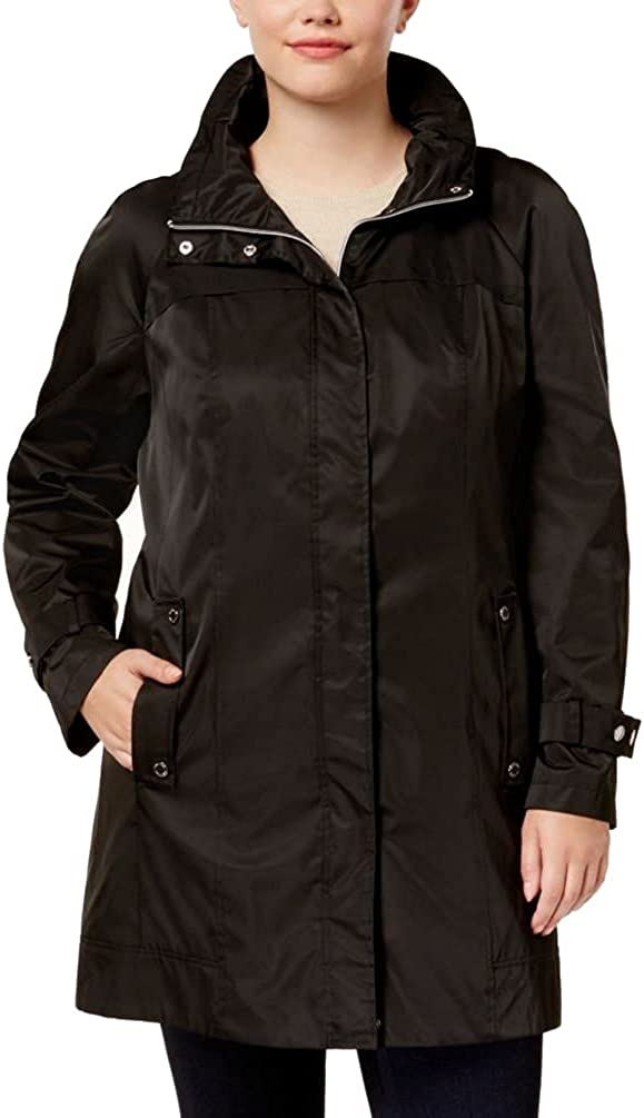 Calvin Klein Women's Plus-Size Packable Anorak Jacket at  Women's Coats Shop