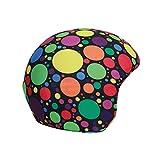 Coolcasc Skihelm Cover - Crazy Dots