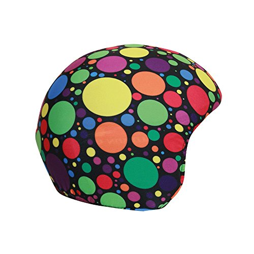 Coolcasc Skihelm Cover - Crazy Dots