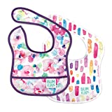 Bumkins Starter Bib, Baby Bib Infant, Waterproof, Washable, Stain and Odor Resistant, 3-9 Months,...