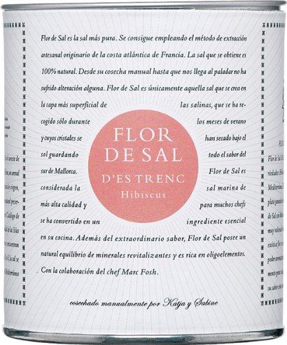 Flor de Sal d'Es Trenc Hibiscos Flor de Sal - 150 gr