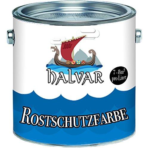 Halvar rouille de protection Apprêt scandinave la corrosion-couleur en gris clair et rouge marron Protection pour métal, gris