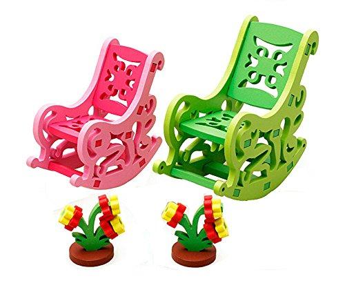 Enfants Beau Colorful Play House Jouets président Assemblage Jouets Meubles