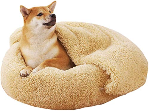 OH Más Terciopelo Cálido Doghouse Huevo Tarta Gato Litera de Felpa Mascota Cama Cálido Invierno Gato Jerarquía Estera Lavable Perrera Encantadora Perro Calentar