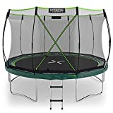 Kinetic Sports Gartentrampolin TBSE1200, 366 cm, grün