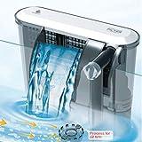 Pompe de filtration extérieure filtre effet cascade, pour aquarium, eau douce ou salée