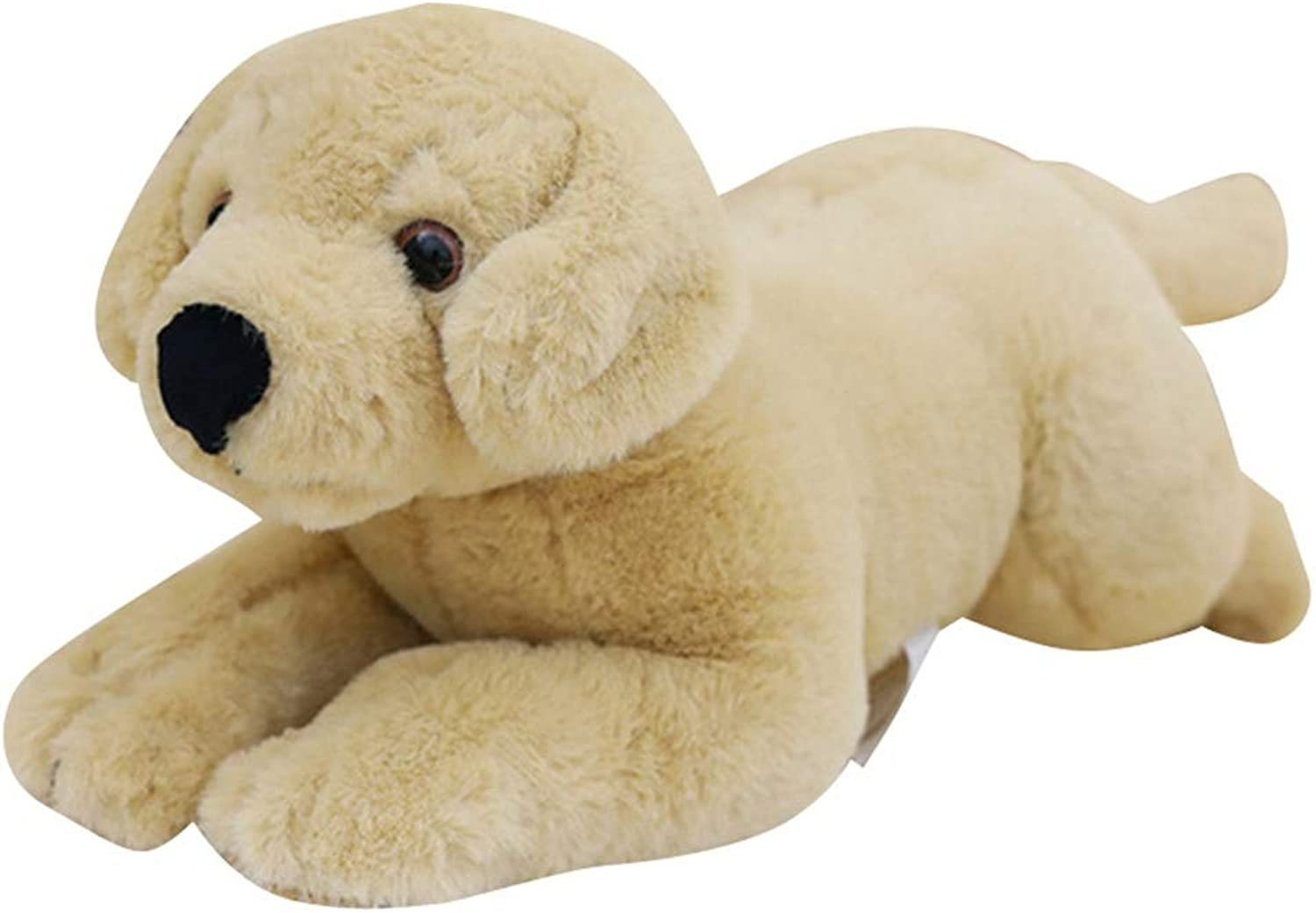 Stuffed Stoy Soft Dog Pillow Cuddly Cartoon Animal Doll Plush Toy Sleeping Comfort Cushion Pillow Gift for Kids (Size   40CM)