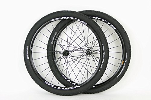 SHIMANO MT15 Rim 29er Mountain Bike Wheels 11 Speed Compatible with Disc Brake Hubs Plus Free Continental 29x2.2 Race King Tires and Tubes!