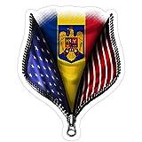Hope Hit Romania USA Flag Roma...