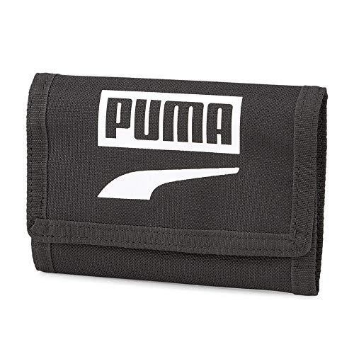 Puma Plus Wallet II Geldbörse, Unisex, Erwachsene, Schwarz, Einheitsgröße