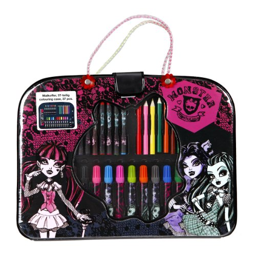 Monster High Set de Papelería 37 pzas.