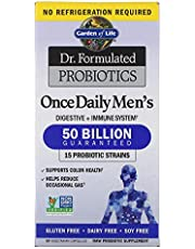 Garden of Life, Dr. Formulated Probiotics, Once Daily's Men's, 30 Veggie Caps