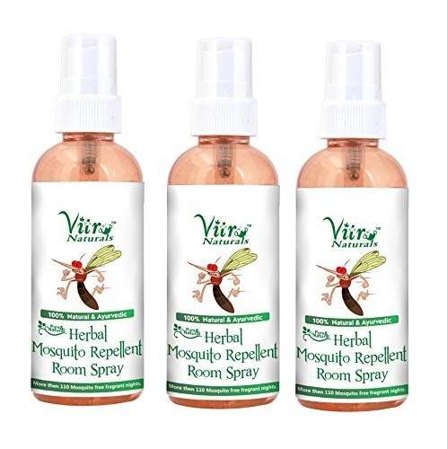 VITRO Mosquito Repellent Herbal Room Spray 100 ml. Set of 3