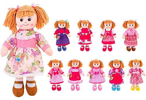 Globo (importazione)- Bambola di Stoffa, Multicolore, 33770