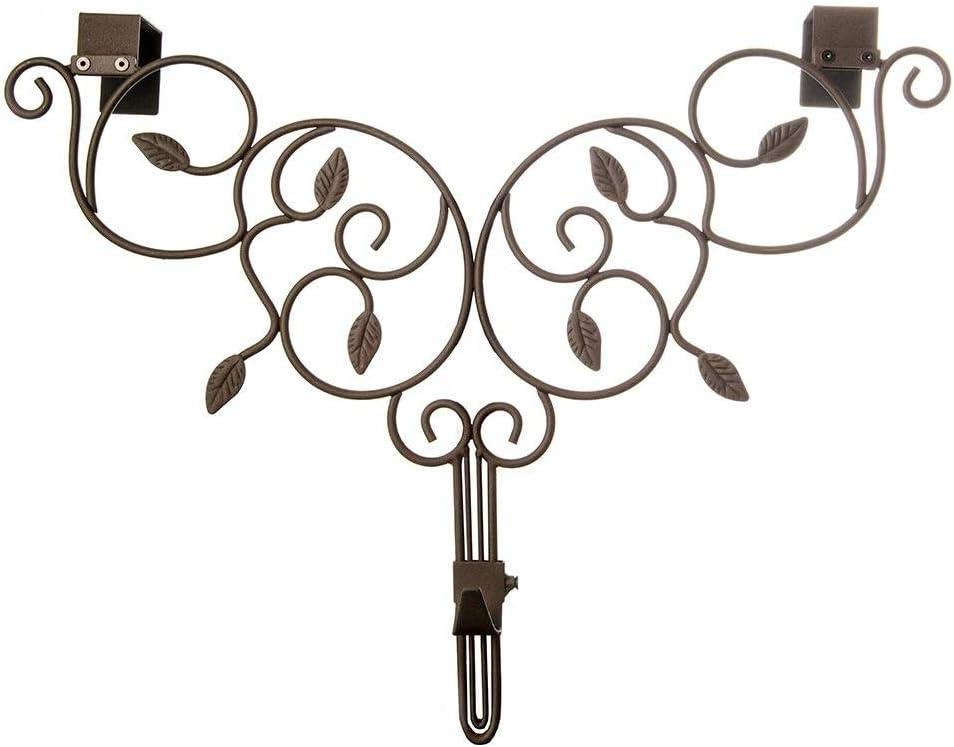 Unknown1 Adjustable Wreath Hanger Sale Daily bargain sale Ivy Brown