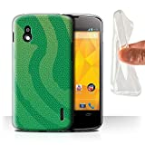 Phone Case for LG Nexus 4/E960 Reptile Skin Effect Pit