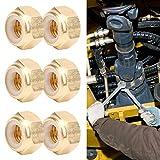 Accessori hardware, dadi M3/M4/M5/M6, dado in rame puro, dado autobloccante da 50 pezzi, m...