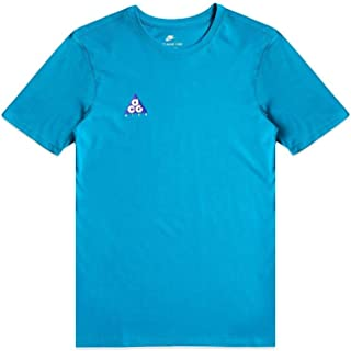 Nike Men's Sportswear ACG Volcano T-Shirt Athletic Cut Tee Teal