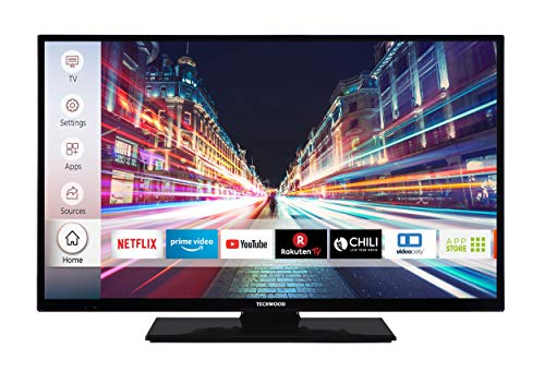 Techwood H32T52C 81 cm (32 Zoll) Fernseher (HD-Ready, Triple-Tuner, Smart TV, Prime Video, Works with Alexa) (Elektronik)