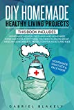 Diy Homemade Healthy Living Projects: This Book Includes: Homemade Medical Face Mask And Homemade Hand Sanitizer. Everything You Need To Know About Hand ... For Adults And Kids (English Edition)