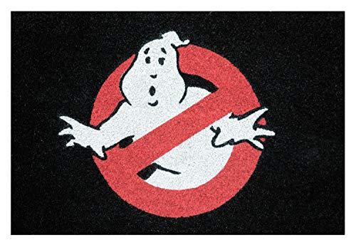Grupo Erik Felpudo Entrada casa Cazafantasmas Logo, Ghostbusters, 40x60x2 cm, FGE0032