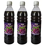 Jordan Communion Grape Concentrate Syrup, 700 ml ( Combo of 3 bottles)