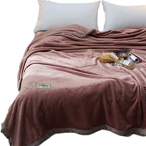 Deken Warm Fluffy Tweepersoons/veel Sizee - Super Zachte Fleece Bedsprei Flanel Microvezel Slaapbank Glad