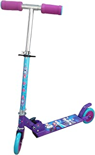 Disney Frozen Elsa and Anna 2 Wheel Scooter, Multi Color