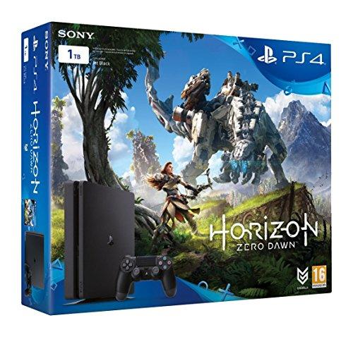 Sony PS4 PlayStation 4 Slim (Chasis D) 1TB + Horizon Zero Dawn
