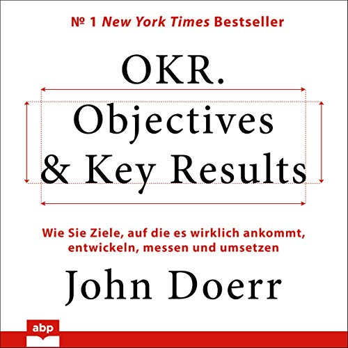 OKR. Objectives & Key Results Titelbild
