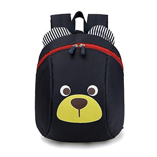 Luerme Kinderrucksack Kleinkind Jungen Mädchen Kindergartentasche Niedlich Cartoon Bär Backpack Schultasche Rucksack (Dunkel Blau)
