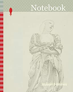 Notebook: Reflection of Kneeling Female Figure, study for The Mirror of Venus, c. 1873–77, Sir Edward Burne-Jones, Englis...