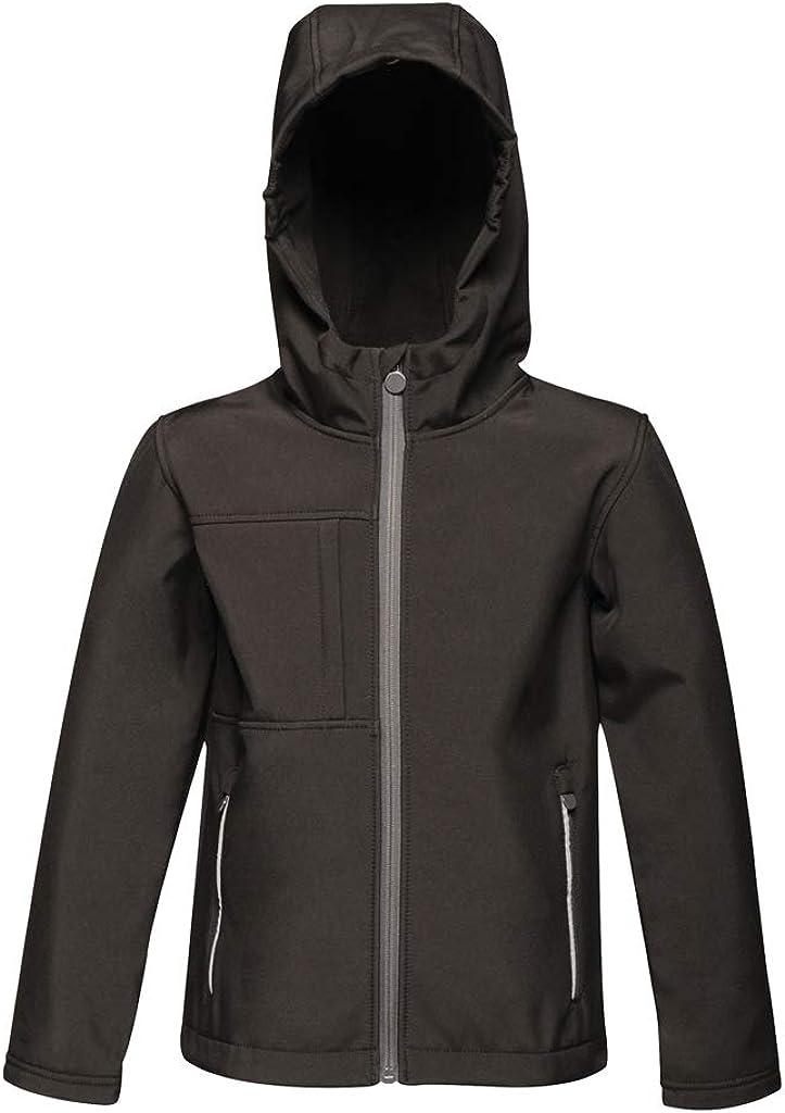 Regatta Kids Octagon Hooded Soft Shell Jacket