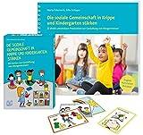 Die soziale Gemeinschaft in Krippe und Kindergarten stärken: Buch und Karten zur Gestaltung von...