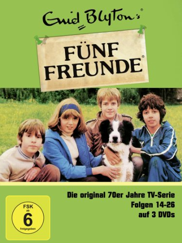 Enid Blyton - Fünf Freunde Box 2, Folgen 14-26 [3 DVDs]