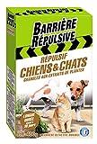 BARRIERE REPULSIVE Granulés Répulsif Chiens et Chats, Action jusqu'à 30 jours, 400...