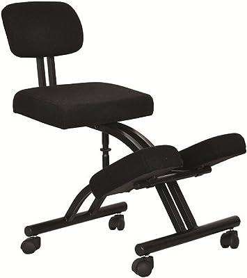 AISSION Chair Silla de Rodilla con Ruedas y Espuma viscoelástica, ergonómica, Ajustable, para