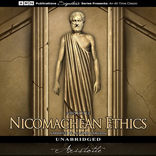 Nicomachean Ethics audiobook cover art