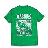 lepni.me Maglietta da Uomo la Corsa alla Morte - L'Ultimo Killer Ride, Motociclismo, Motoc...