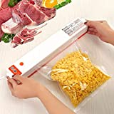 Envasadora al vacío, se utiliza para guardar y sellar los alimentos. Para conservar la frescura de los alimentos. Adecuado para el hogar, camping y uso comercial.