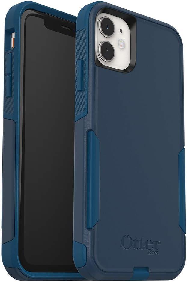 OtterBox Commuter Series Case for iPhone 11 - Bespoke Way (Blazer Blue/Stormy Seas Blue)