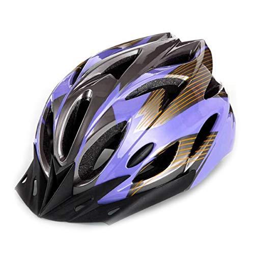 Casco da equitazione, unisex, leggero, regolabile, con visiera per mountain bike, sci, bici da...