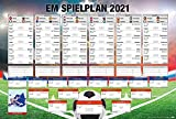 Close Up Fußball EM Spielplan 2021