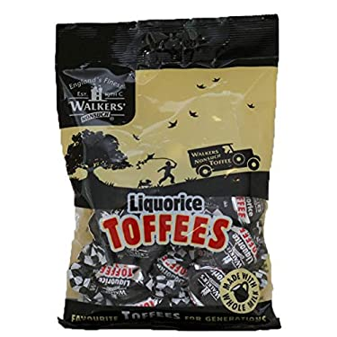 Walkers Nonsuch Liquorice Toffees (150g) Bag